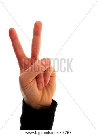 Finger Number 2 poster