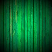 Green Grunge Wooden Background