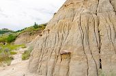 Details Of A Badlands Escarpment