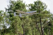 pic of drone  - UAV army drone flying for a new mission - JPG