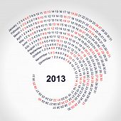 2013-Spiral-Kalender