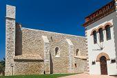 Old Church In The Village Sant Marti Costa Brava Spain