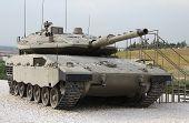 Israeli Merkava Mk IV tank