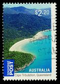 Australia Cape Tribulation Postage Stamp