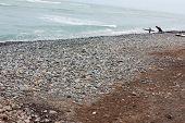 Beach At Miraflores In Lima, Peru