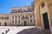Palacio del seminario. Brindisi. Puglia. Italia.