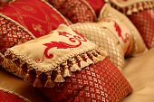 Red Decorative Pillows