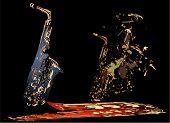 Saxophone Splatter