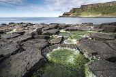 Giants Causeway National Park Landscape, North Ireland