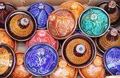 Colorful Tajines