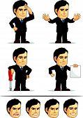 Businessman Or Company Executive Mascot 9