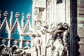 Duomo Of Milan, (milan Cathedral), Italy.
