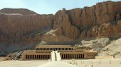 stock photo of hatshepsut  - temple of hatschepsut - JPG
