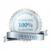 Premium quality and customer 100% satisfaction guarantee label