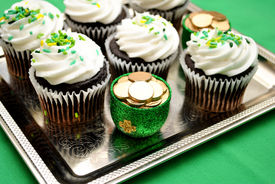 pic of st patty  - Luck of the Irish Cupcake in Celebration for St Patty - JPG