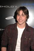 Logan Huffman at the Samsung Behold ll Premiere Launch Party, Blvd. 3, Hollywood, CA. 11-18-09