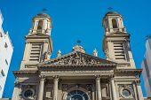 Nicola Di Bari Church In Buenos Aires, Argentina.