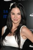 Jayde Nicole  at the Samsung Behold ll Premiere Launch Party, Blvd. 3, Hollywood, CA. 11-18-09
