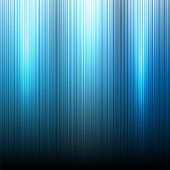 Blue Neon abstract lines