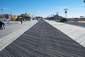 Coney Island boardwalk in New York City
