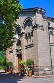Church of St. Quintino. Montechiarugolo. Emilia-Romagna. Italy.