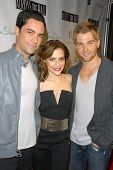 Danny Pino, Brittany Murphy and Mike Vogel  at the