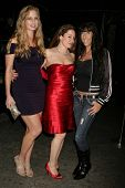 Jillie Reil, Vivian Eisenstadt and Dee Dee Bigelow at the Cabana Club Holiday Soiree, Cabana Club, H