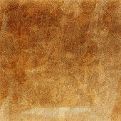 Designed  Grunge Paper Texture.  Crumpled Paper Background. High Resolution Brown Colored Recycled
