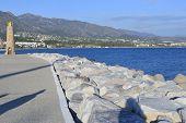 Landscape Of Marbella Beach