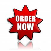 Order Now On Red Star Banner