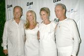 Kelsey Grammer and Camille Grammer with Tina Segal and Fred Segal at the Birthday Celebration for Fr