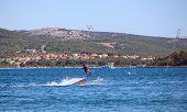 Cable Ski In The Punat Sea, Croatia