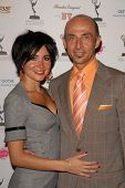 Lorena De Fatima Mendoza and Shaun Toub at the Academy of Television Arts and Sciences Prime Time Emmy Nominees Party. Wolfgang Puck Pacific Design Center, West Hollywood, CA. 09-17-09