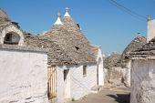 Glimpse Of Alberobello
