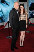Bruce Willis and Rumer Willis at the Los Angeles Premiere of 'Surrogates'. El Capitan Theatre, Hollywood, CA. 09-24-09