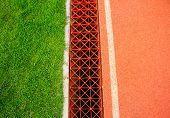 Running Track  Drainage Systems