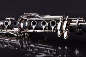 image of clarinet  - Close - JPG
