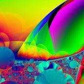 Alian panet fractal