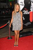 Claudia Jordan at the Los Angeles Premiere of 'Law Abiding Citizen'. Grauman's Chinese Theatre, Holl