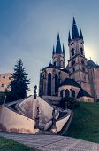 stock photo of saint-nicolas  - Church of St. Nicolas in Cheb (Czech Republic)