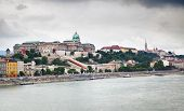 The Buda Castle (Royal Palace) in Budapest, Hungary