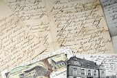 Old Letter And Postcard