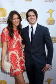 LOS ANGELES - JUN 26:  Olivia Pickren, Steven McQueen at the 40th Saturn Awards at the The Castaways on June 26, 2014 in Burbank, CA