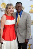 LOS ANGELES - JUN 26:  Linda Hudson, Ernie Hudson at the 40th Saturn Awards at the The Castaways on