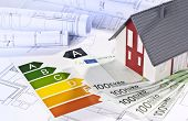 Architectural Model, Architectural Plans, Energy Efficiency Labels And Money