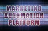 Marketing Automation Platform or MAP on Business Chart