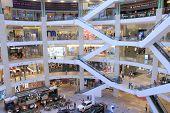 PAVILION Shopping mall  interior Kuala Lumpur