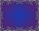 Background with filigree