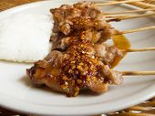 Grilled Pork And Sticky Rice