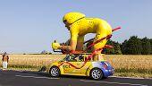 Traditional Mascot Of Publicity Caravan